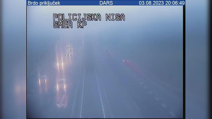 Webcam Koseze: A2/E61 − zahodna obvoznica, priključek Brd