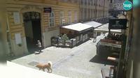 Zagreb: Tomiceva street - Overdag