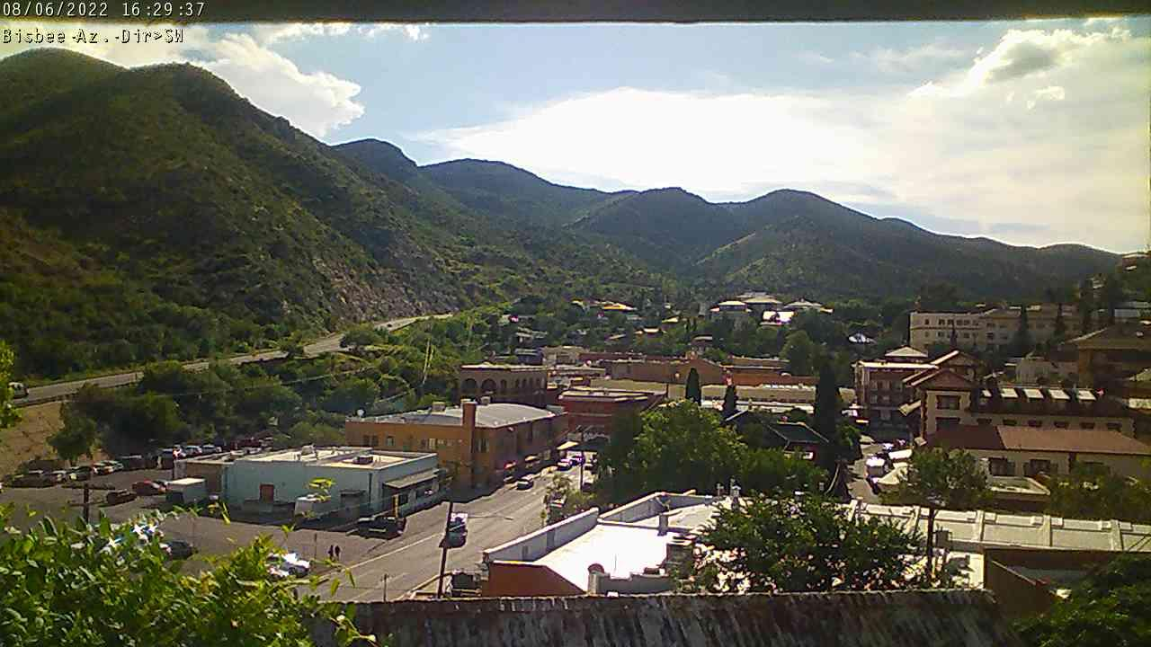 Webcam Bisbee: United States − Historic Downtown
