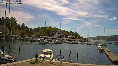 Webkamera Oscarsborg: gjestehavn