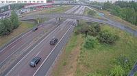 Bisslinge: Tpl Glädjen (Kameran är placerad på E Uppsalavägen i höjd med trafikplats Glädjen och är riktad mot Stockholm) - Aktuell
