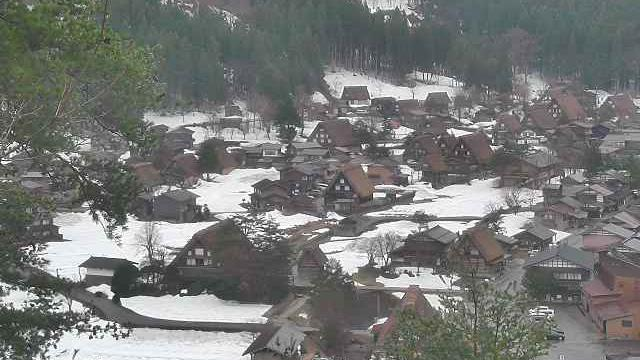 Webcam 荻町 › West: Shirakawa-go