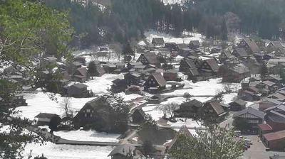 Daylight webcam view from 荻町 › West: Shirakawa go