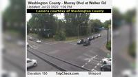 Durham: Washington County - Murray Blvd at Walker Rd - El día