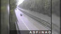 Dernière vue de jour à partir de Kamering: A10, bei Anschlussstelle Paternion/Feistritz, Blickrichtung Villach − Km 155,28