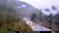 Hope › West: , Hwy  at Othello, about  km east of - looking south - Overdag
