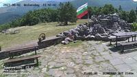 Ultima vista de la luz del día desde Кърнаре: Hizha Dermenka − Balkan Mountains