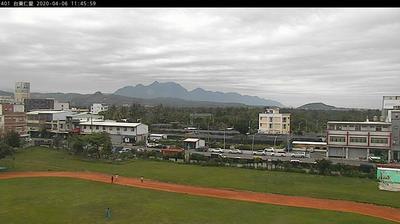 Tageslicht webcam ansicht von Taitung City