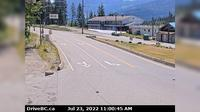 Rossland > East: Hwy B at Hwy  near the - Weigh Scale, looking east on Hwy - Current