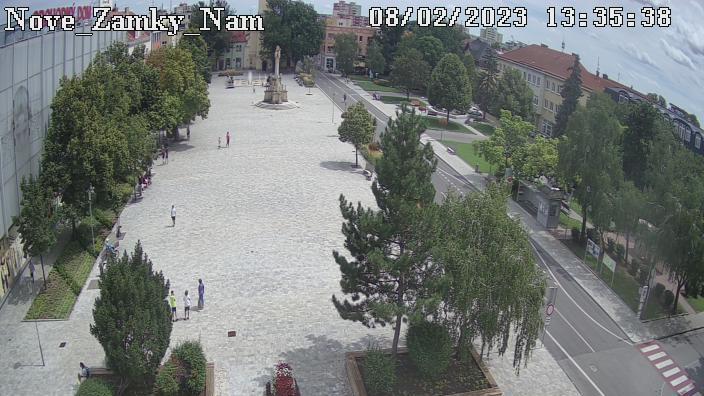 Webcam Nové Zámky: Hlavné námestie