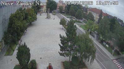 Daylight webcam view from Nové Zámky: Hlavné námestie