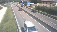 Vela: SS_km , in localit� Trento commerciale (comune di Trento) con vista in direzione nord - Recent