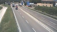 Vela: SS_km , in localit� Trento commerciale (comune di Trento) con vista in direzione nord - Overdag