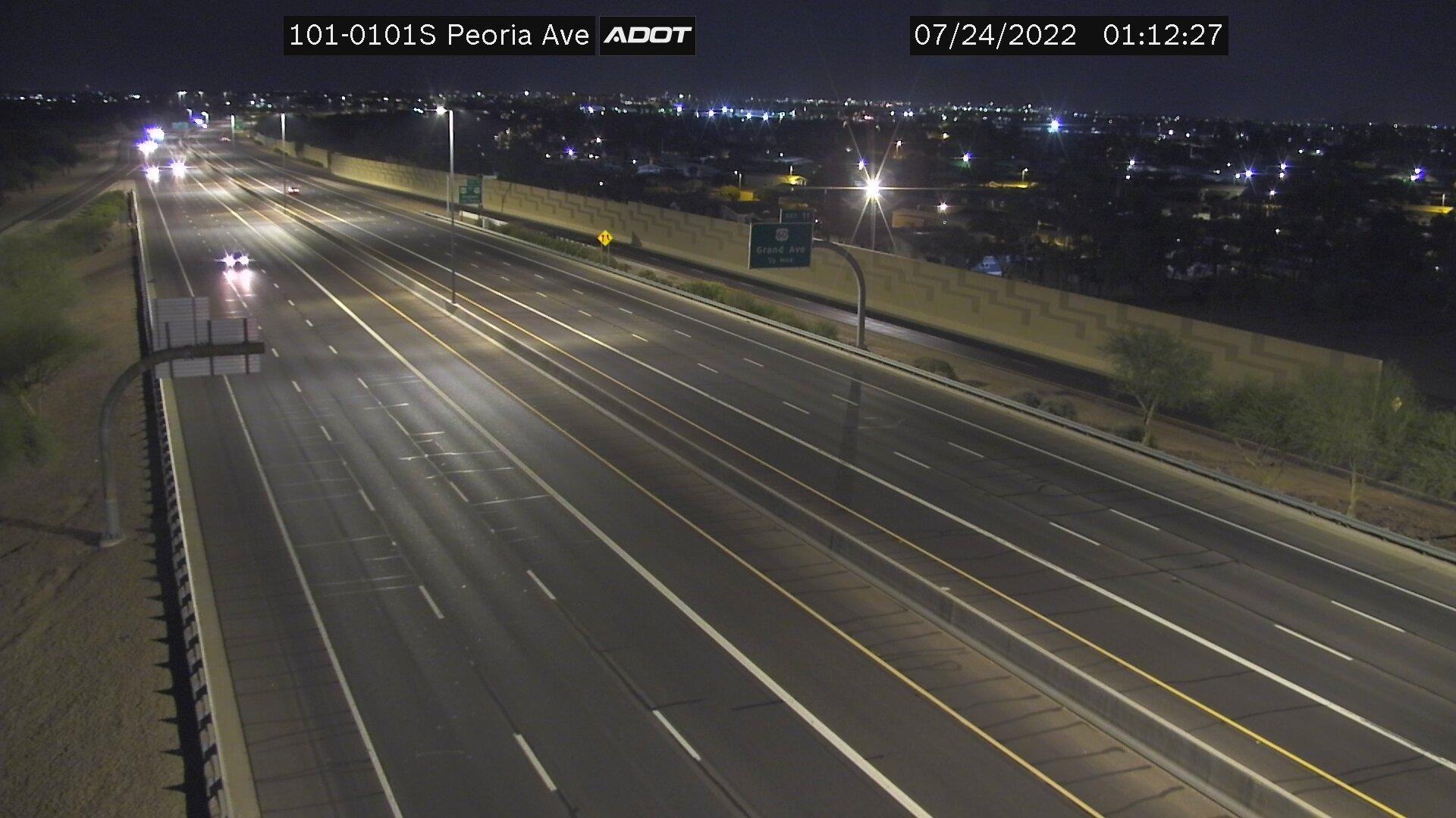 Webcam El San Juan Trailer Park: Loop 101 South @ Peoria