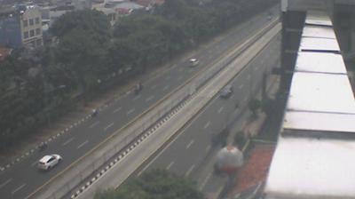 Daylight webcam view from Kampungjawa: Gunung Sahari − Ps. Baru − Pusat