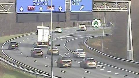 Webcam Uithof: A27/A28 Rijnsweerd