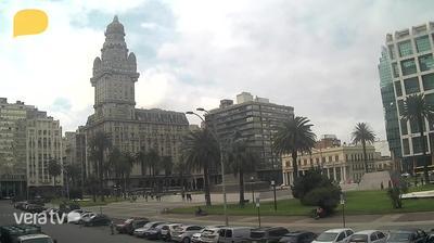 Webcam Plaza Independencia › East: Minas − Lavalleja