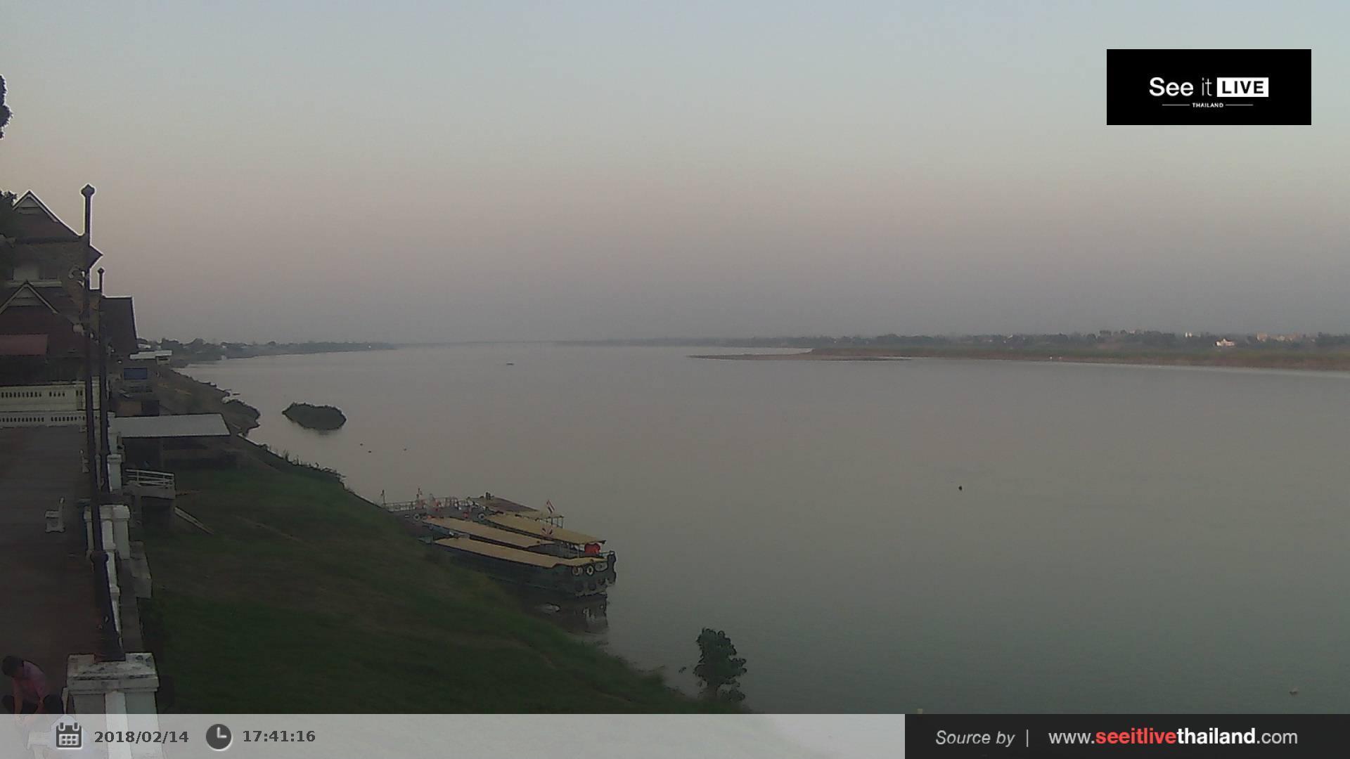Webkamera Mukdahan: Tha Kham Municipality Pier