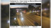 Wilsonville: Clackamas Co - Town Center Lp West at - Rd - El día