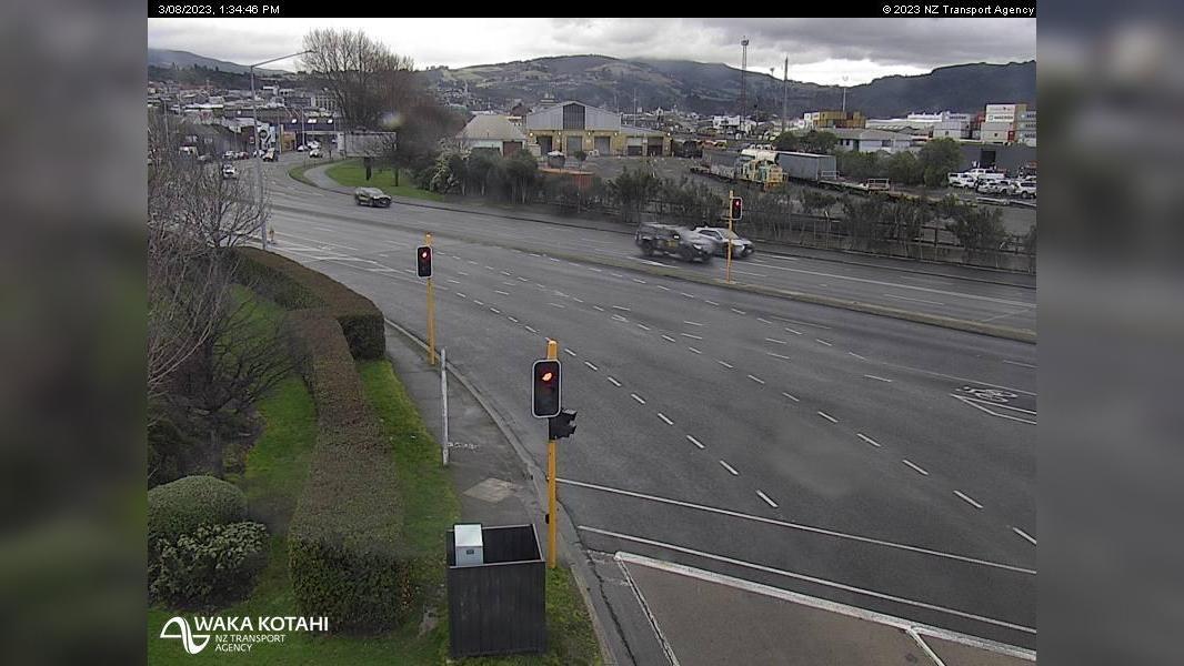 Webkamera Dunedin › North: SH1