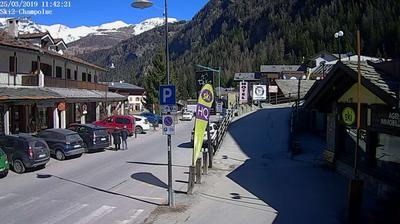 Webcam Champoluc-Champlan › North-East: Ski 2 Champoluc