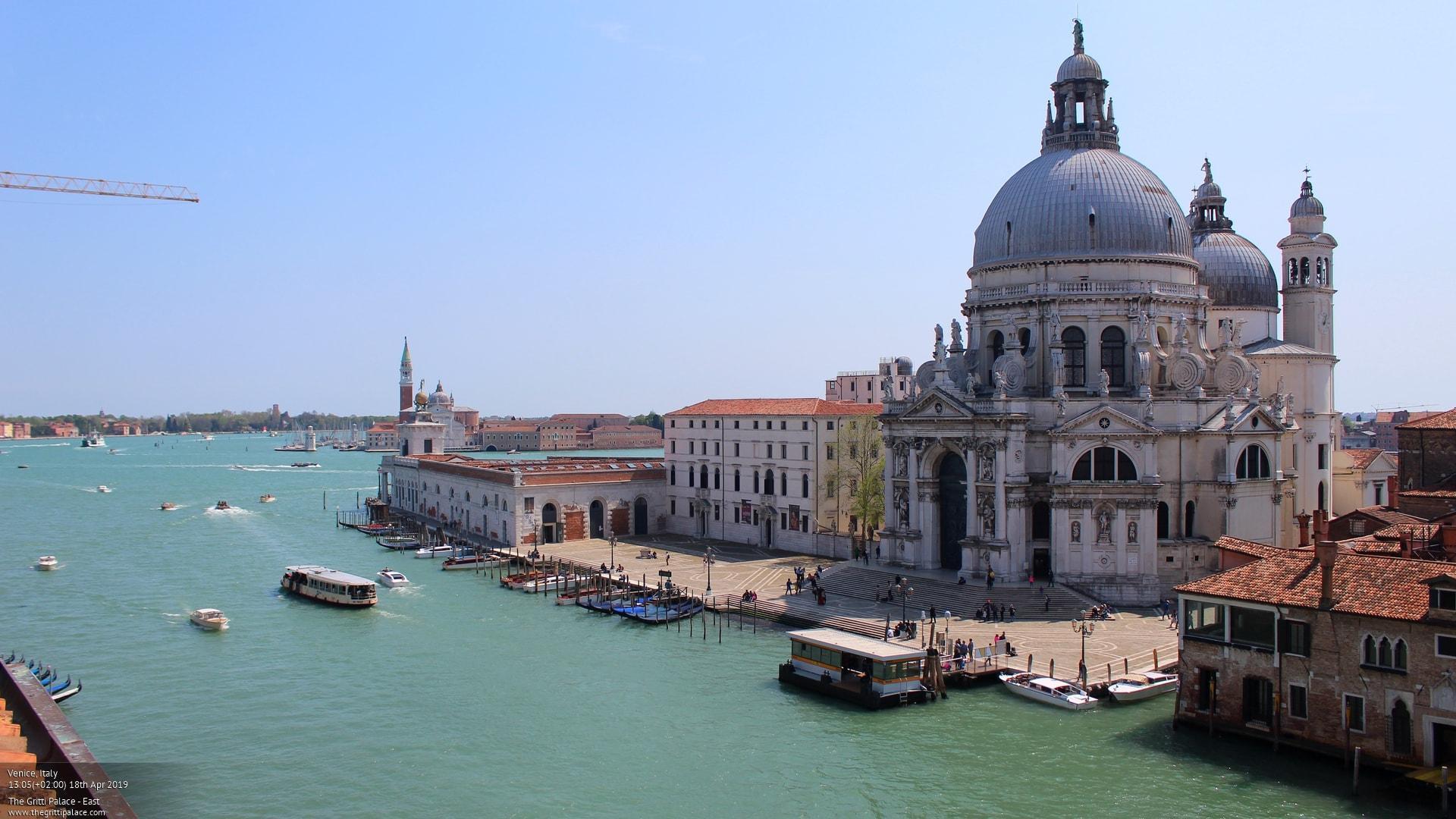 Webcam Venice: Basilica di Santa Maria della Salute