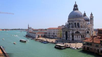 Venise: Basilica di Santa Maria della Salute