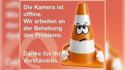 Vista actual o última desde Tragin: A10, bei Anschlussstelle Paternion/Feistritz, Blickrichtung Salzburg − Km 156,87