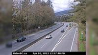 West Vancouver > West: , Hwy  at Hadden Drive ramp for Taylor Way, looking west - Overdag