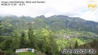 Goriach: Virgen - W�rfeleh�tte - Blick nach Norden - Dagtid