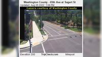 Tualatin: Washington County - th Ave at Sagert St - El día