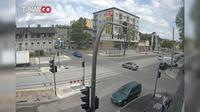 Pabianice: Zamkowa - Traugutta - Overdag