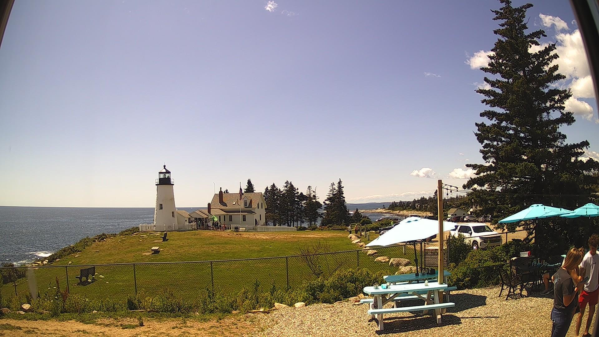 Webcam Pemaquid Point: Pemaquid Lighthouse
