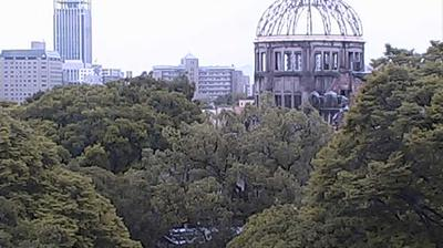 Daylight webcam view from Motomachi: Peace Memorial
