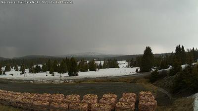 Daylight webcam view from Nordsæter: Nordseter − Lillehammer