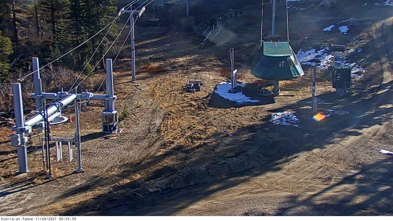 Webkamera Phillips: Sierra at Tahoe − Top of Grandview Expre