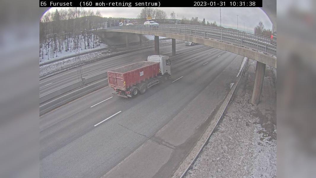 Webcam Furuset: E6 − Retning mot