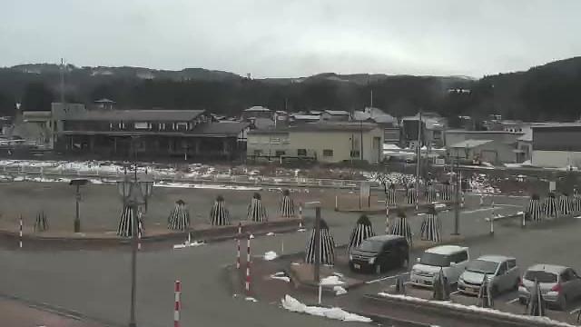 Webcam 矢島町立石: Day New Wing (日新館)