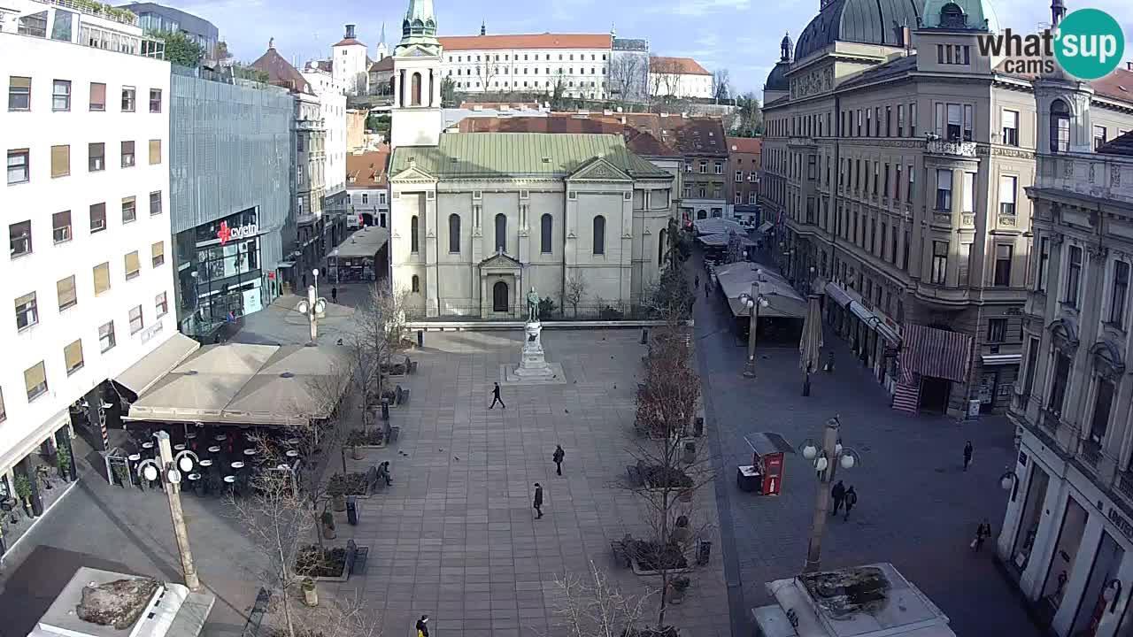 Webcam Zagreb: Cvjetni Trg