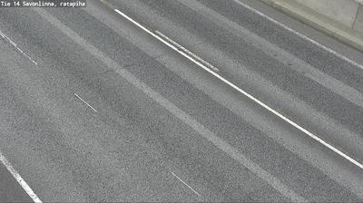 Daylight webcam view from Savonlinna: Tie14 − Ratapiha − Tienpinta
