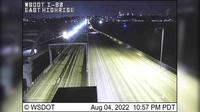 Mercer Island: I- at MP .: Floating Bridge, East Highrise - Actuales