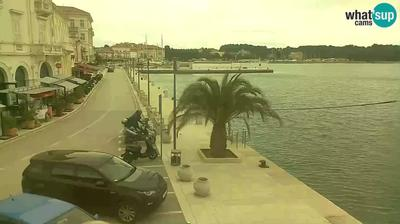 Daylight webcam view from Poreč: waterfront