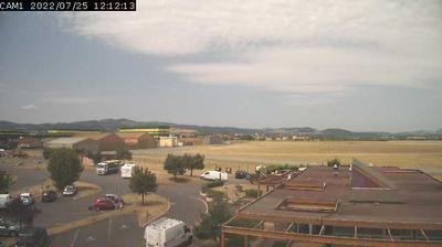 Daylight webcam view from Le Puy – Loudes Airport: Le Puy − Loudes Airport