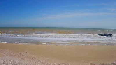 Daylight webcam view from Кирилівка › South East: Respekt − Sea of Azov