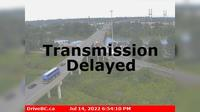 Delta > South: , Hwy , southbound approach to Alex Fraser Bridge, looking south - Recent