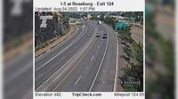 Roseburg: I- at - Exit - Day time