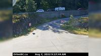 Harrison Hot Springs > South: , Hwy  at Herrling Island overpass, looking south - Recent