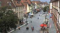 City: Webcam in der Bayreuther Fußgängerzone - Dia