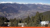 Palmschoss - Plancios: Plose Richtung Brixen - Plose direzione Bressanone - Jour