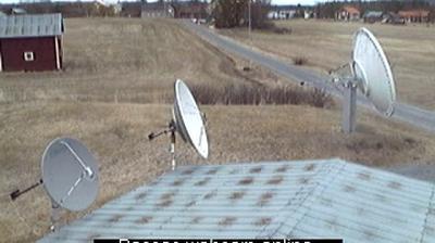 Webcam Tivarsgården: Parabol väder info live − Östersund